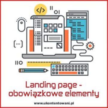 elementy składowe dobrego landing page