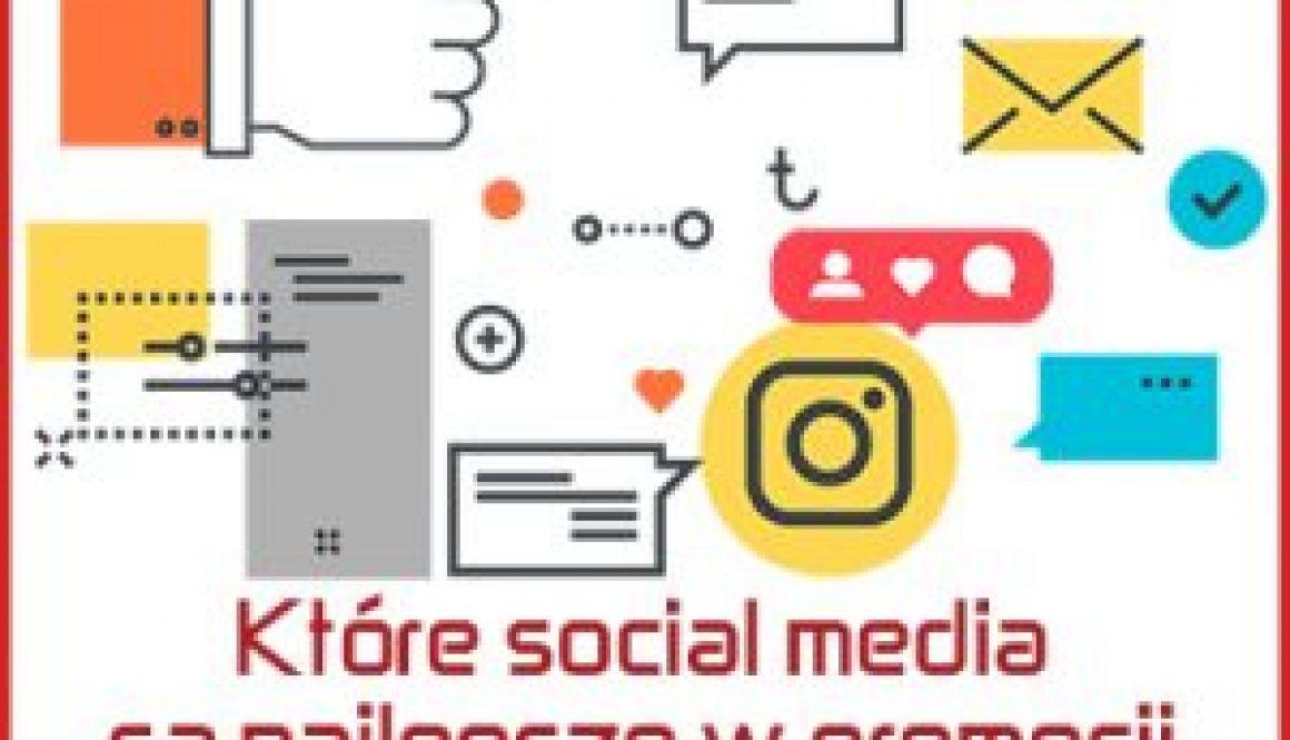 które media społecznościowe najlepsze do promocji biznesu marki