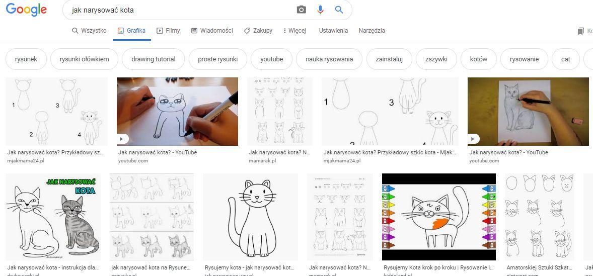 wyszukiwarka google grafiki