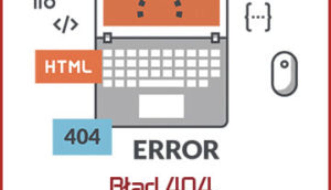 błąd 404 - jak naprawić